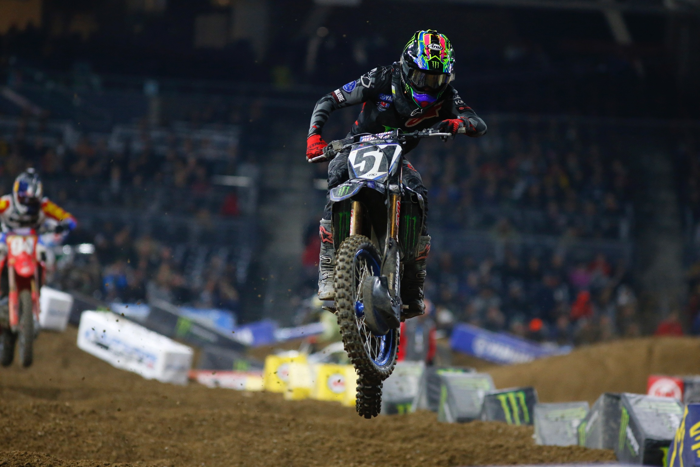 Two Top 10's for Factory Yamaha's at San Diego SX